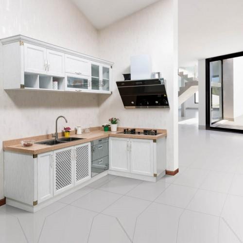 白橡木简易全铝橱柜BJB-A12