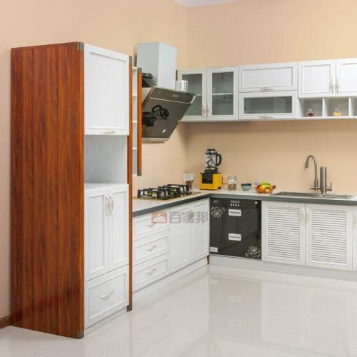 金橡木加白橡木全铝橱柜BJB-A05