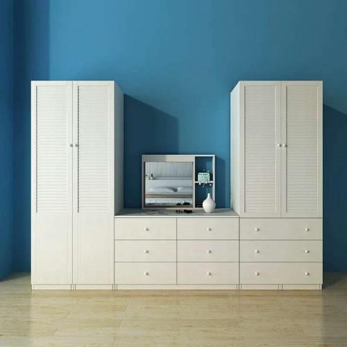 卧室梳妆台组合衣柜抽屉收纳盒14