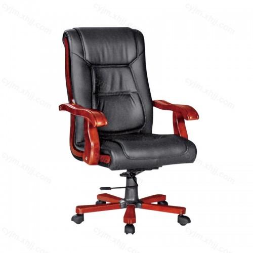 真皮老板椅家用办公电脑椅01