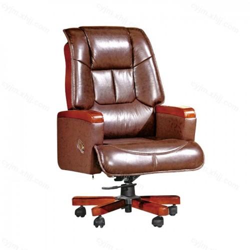 可升降实木扶手办公椅04