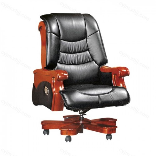 实木办公椅子可躺07