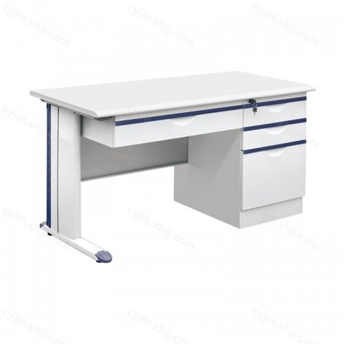 简易钢制职员办公桌电脑桌06