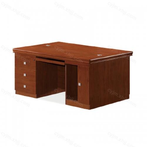 油漆班台主管桌01