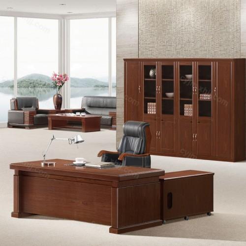 现代简约大班台老板桌05
