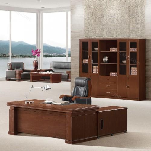 老板办公班台桌经理桌07