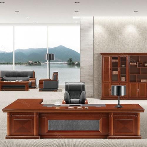 油漆大班台总裁办公桌08