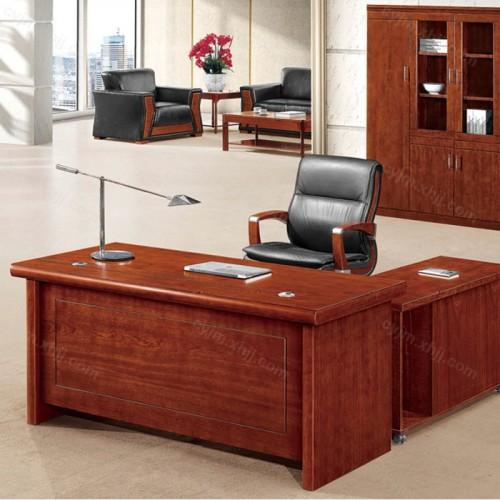 中式办公班台老板桌16