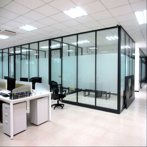 玻璃屏风隔断墙10