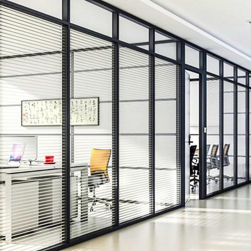 高隔断办公室玻璃隔断11