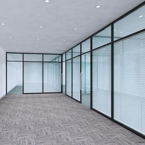 铝合金钢化玻璃隔音墙12