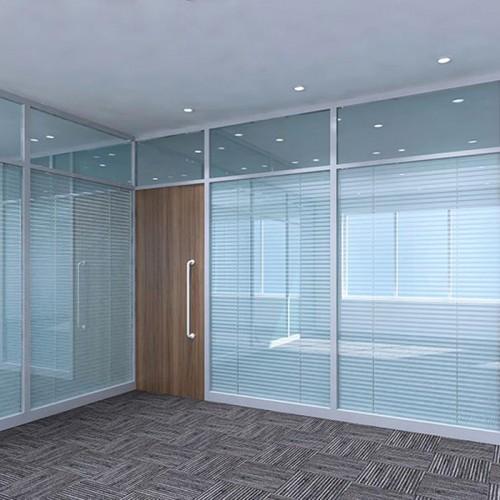 办公高隔断玻璃隔断墙13