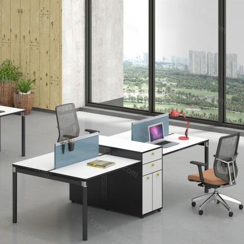 公司职员桌屏风办公桌08