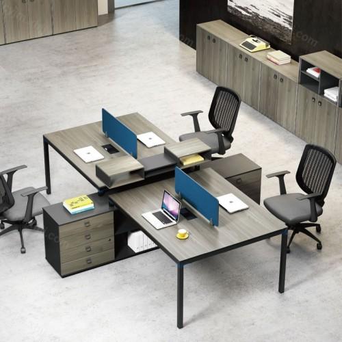 职员屏风组合柜办公桌10