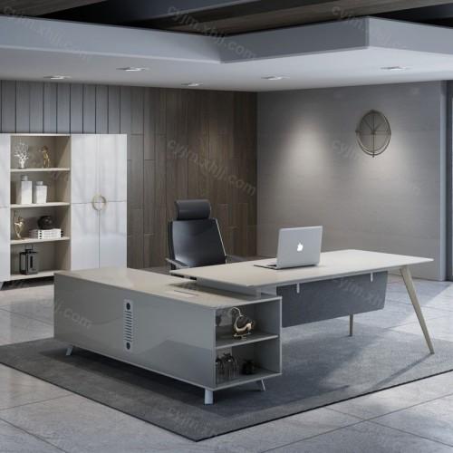 时尚现代老板台经理桌08