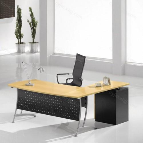 时尚钢架经理台老板桌18