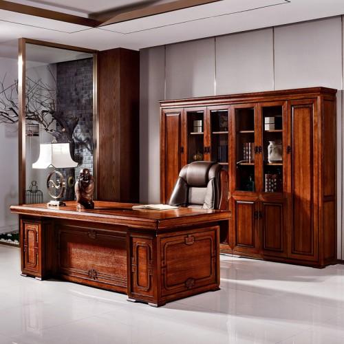 办公家具总裁桌大班台 和祥
