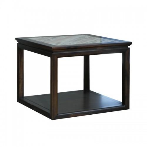 新中式客厅双层方形茶