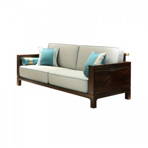 现代中式客厅沙发22