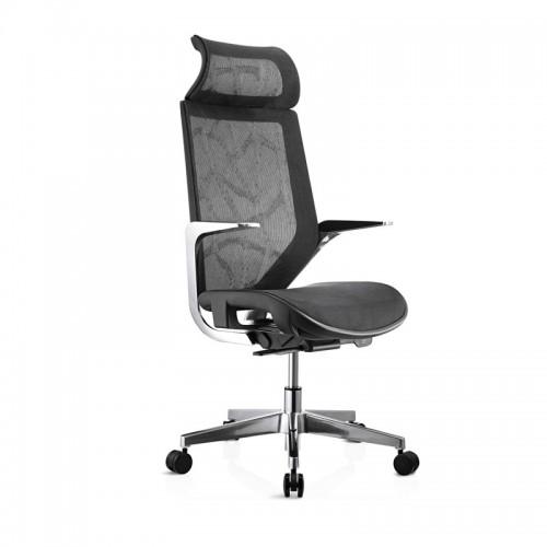 时尚网布老板椅躺椅职