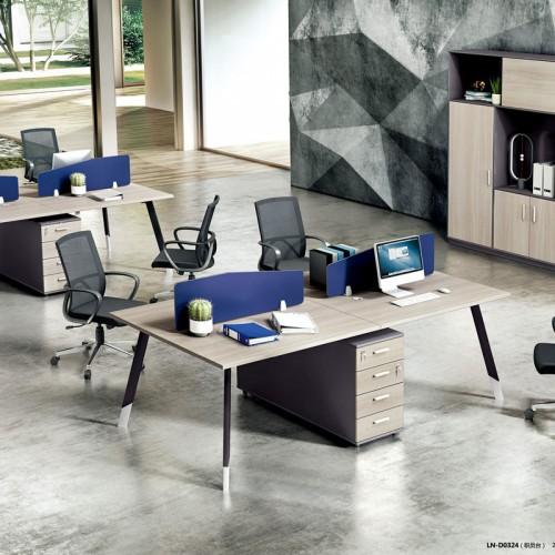时尚板式屏风桌电脑桌