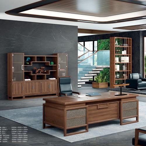 实木班台桌办公桌YZ-0