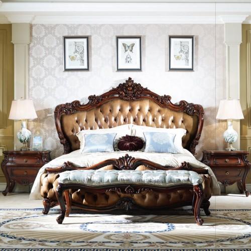经典法式双人床套房家
