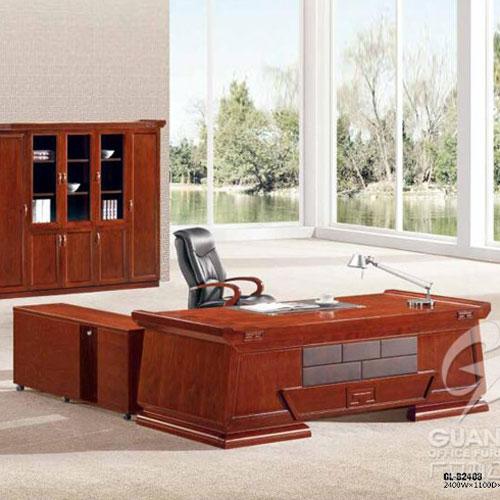 油漆大班台办公桌椅GL
