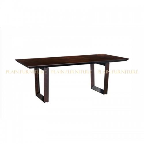 美式简约长方形餐桌DT