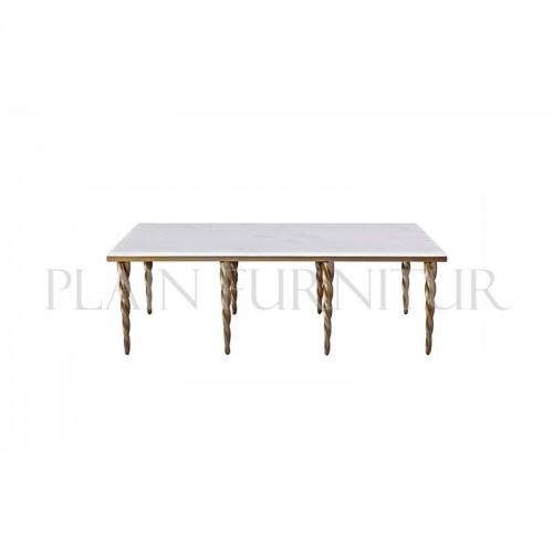 美式轻奢长方形餐桌ST
