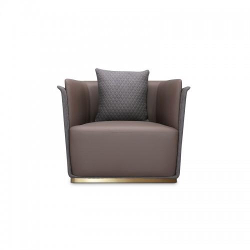 美式客厅单人位沙发02