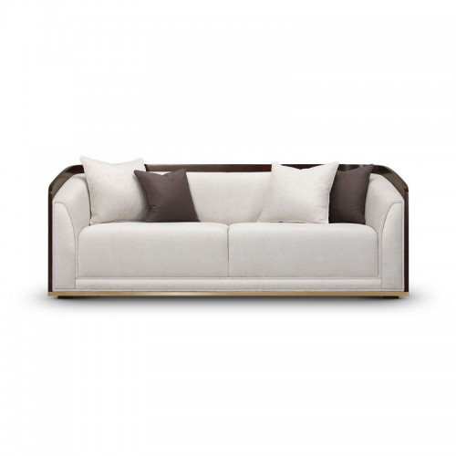 美式现代轻奢客厅沙发