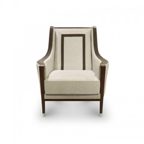 美式轻奢客厅休闲椅SF