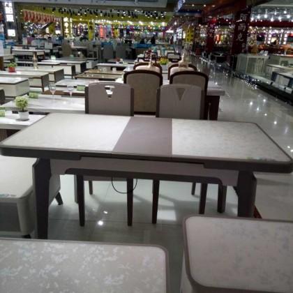 北欧推拉电磁炉餐桌11