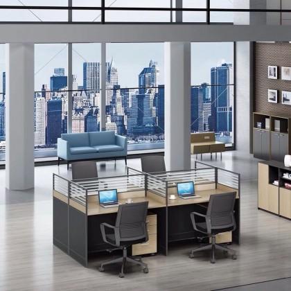 屏风办公桌组合简约现代电脑桌职员工位卡座办公家具有限公司44