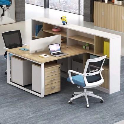 办公桌组合2/4/6人位工位职员桌办公室财务桌办公家具45