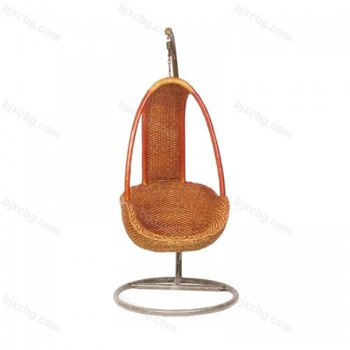 天然藤椅阳台休闲吊椅04