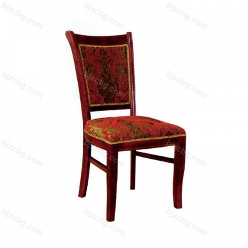 中式酒店餐桌椅靠背椅14