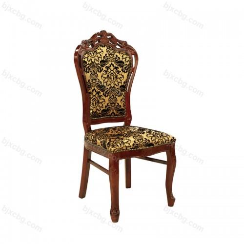 雕花木质餐椅酒店桌椅10