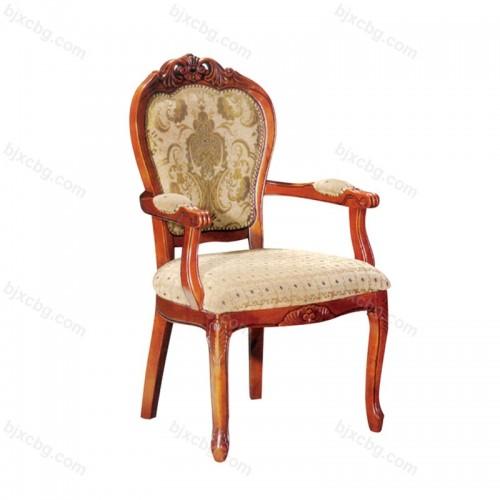 酒店餐椅实木椅子06