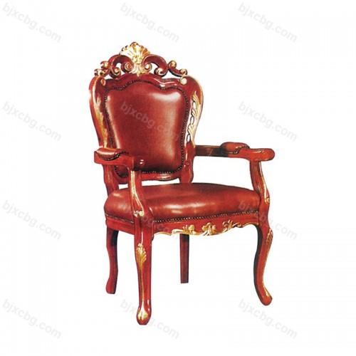 酒店会所茶楼扶手椅餐椅03