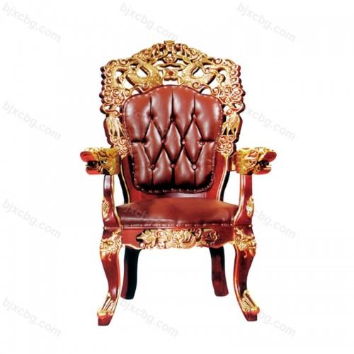 高档皮椅子酒店休闲椅餐椅01