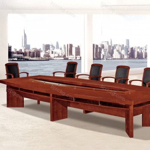 实木油漆办公会议桌HYZ-20