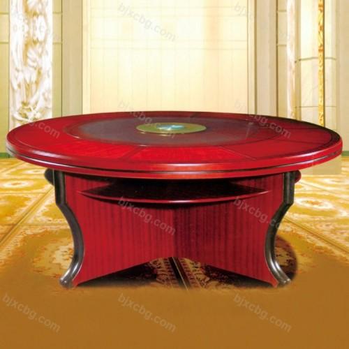 酒店大圆桌餐桌宴会餐桌06