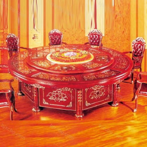 豪华宴会餐桌电动宴会餐桌01
