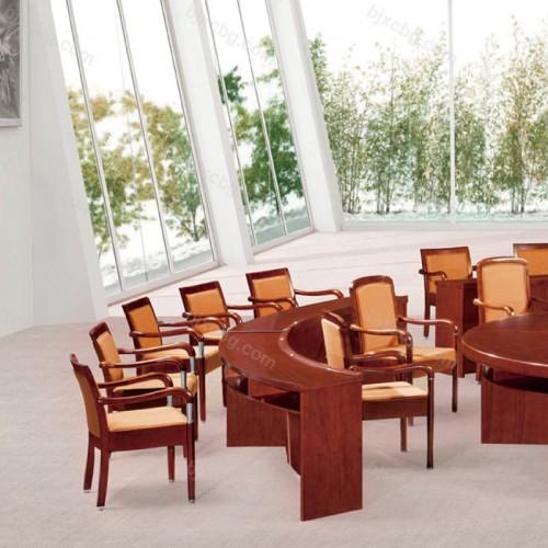 商务办公圆形会议桌培训桌HYZ-12