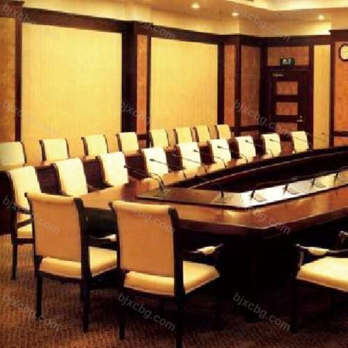 公司大型多功能办公升降会议桌HYZ-10