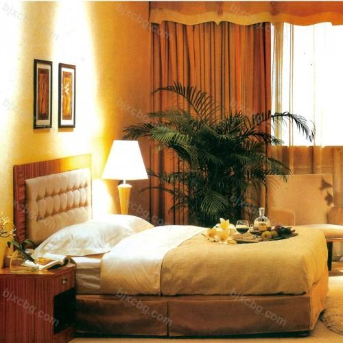 商务宾馆床套房家具01