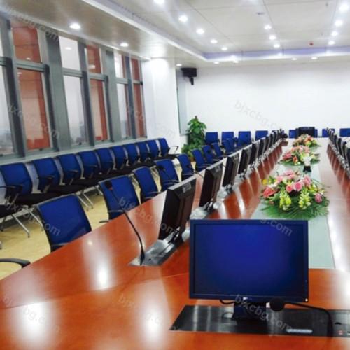 政府公司多功能升降会议桌HYZ-08