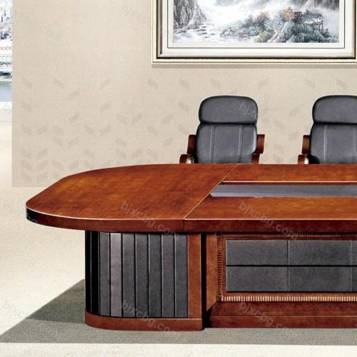 高档豪华木皮会议桌HYZ-06
